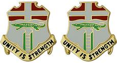 6th Infantry Regiment Unit Crest