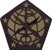 Military Intelligence Ocp Scorpion Shoulder Patches Military Uniform Items