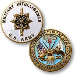 U.S. Army Military Intelligence Coin