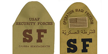 Air Force Security Brassards