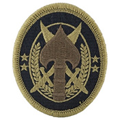 Socom (us army special operation cmd) multicam patch with.